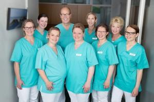 Das Team von Dr. Bergann